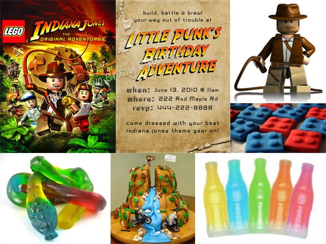 Two Crazy Cupcakes Twins Party Planning TimeLego Indiana Jones – Indiana Jones Party Invitations