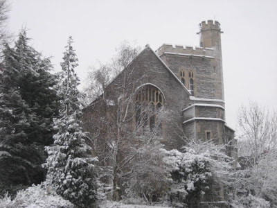 bristol church in snow best of the year 2009