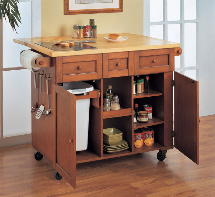 P s i love this october 2010 for Kitchen trolley designs for small kitchens