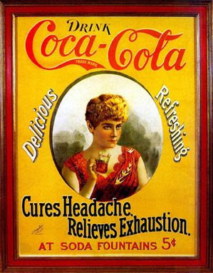 Early CocaCola Labels