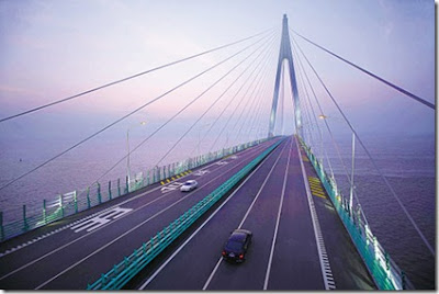 shanghai ningbo bridge