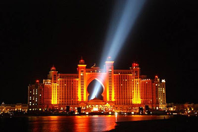 Hotel Atlantis Lightshow Trial Run 2