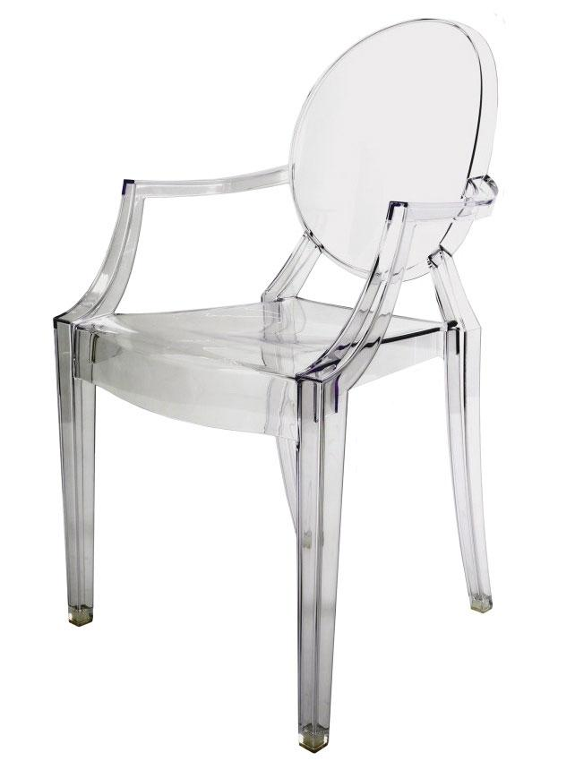 Monkey also got one Louis Ghost chair by Philippe Starck