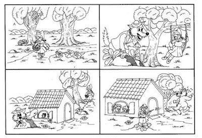 Desenho para produção textual para crianças