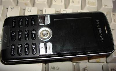 Mijn sony k510i GSM