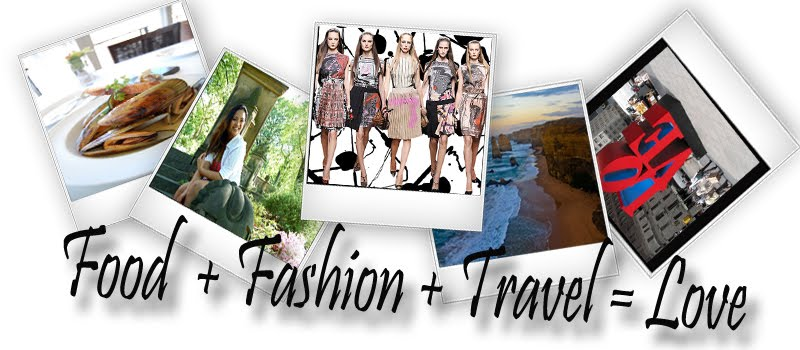 food. fashion. travel.