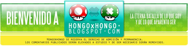 Hongo x Hongo - Siéntase como en su casa