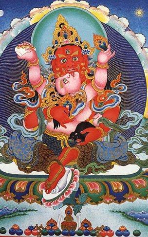 Buddhist RED JAMBHALA