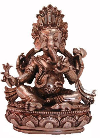 Silver Ganesh, Nepal