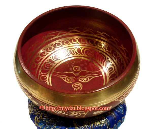Buddhist Colourful SINGING BOWL