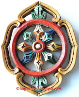 Buddhist Auspicious Sign Wheel