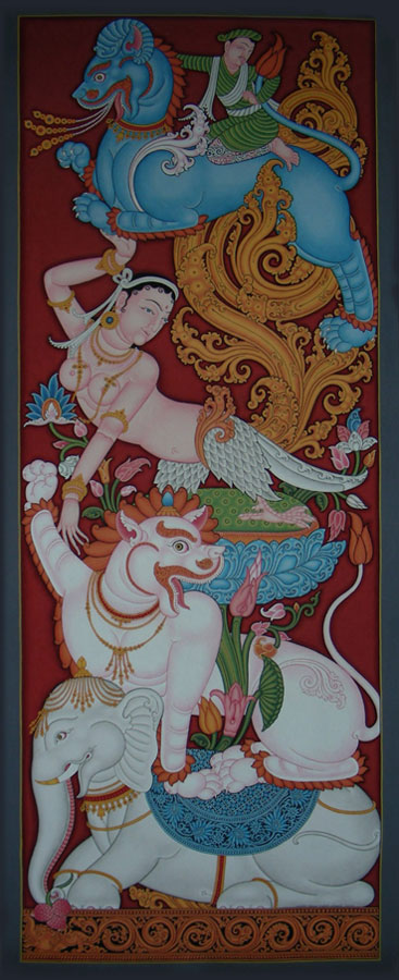 Buddhist Torana painting