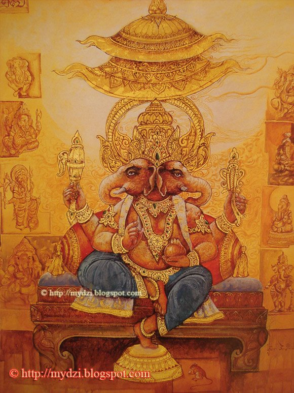 Dwimukha Ganapati
