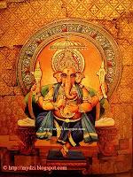 19. Triakshara Ganapati