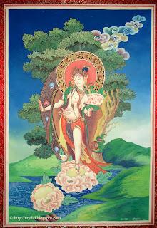 Standing White Tara