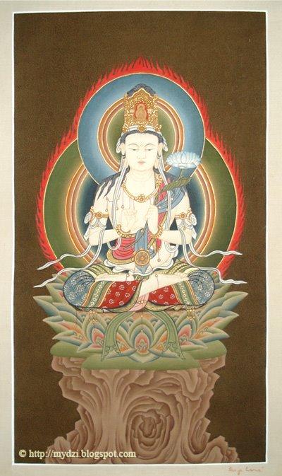 Buddhist Japanese Avlokiteshwor