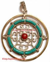 Mandala Pendent