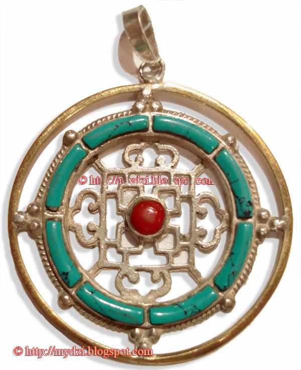 Buddhist Mandala Pendent