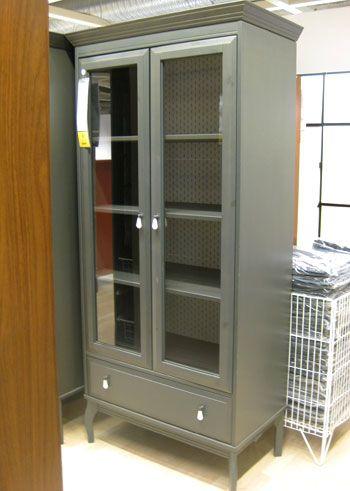 Ikea hutch,hemnes glass door cabinet with drawers 0106834 pe256073 ...