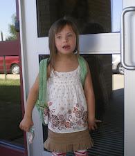 Chloe starts 2nd Grade!
