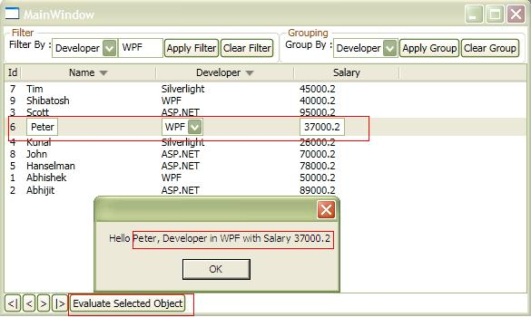 DOT NET TRICKS: Working with CollectionView in WPF(Filter,Sort