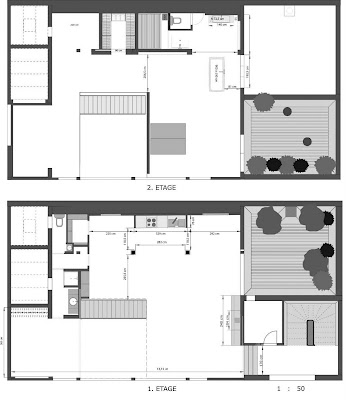 plan maison 150m2 avec etage. Black Bedroom Furniture Sets. Home Design Ideas