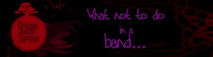 what not to do in a band