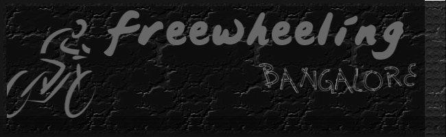 Freewheeling in Bangalore