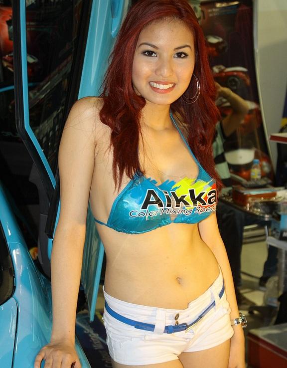 Abby Poblador Bikini