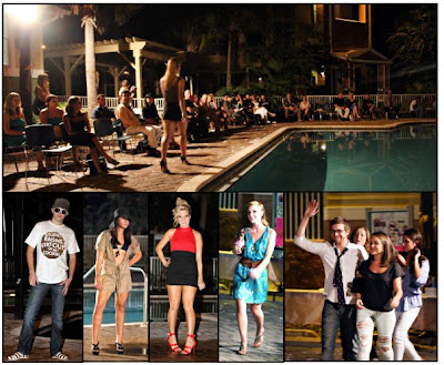 Glimpses of the world as i see it fashion by the pool for Pool fashion show