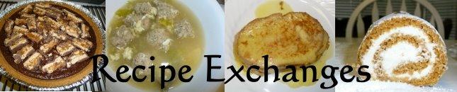 Recipe Exchanges