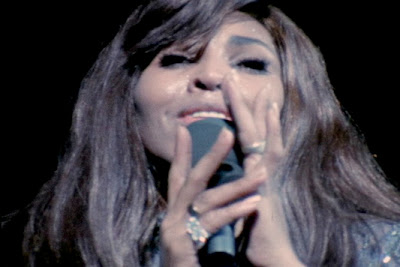 Tina Turner 1969 with the Rolling Stones