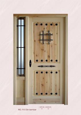 Garitas meteorol gicas for Catalogo de puertas de madera