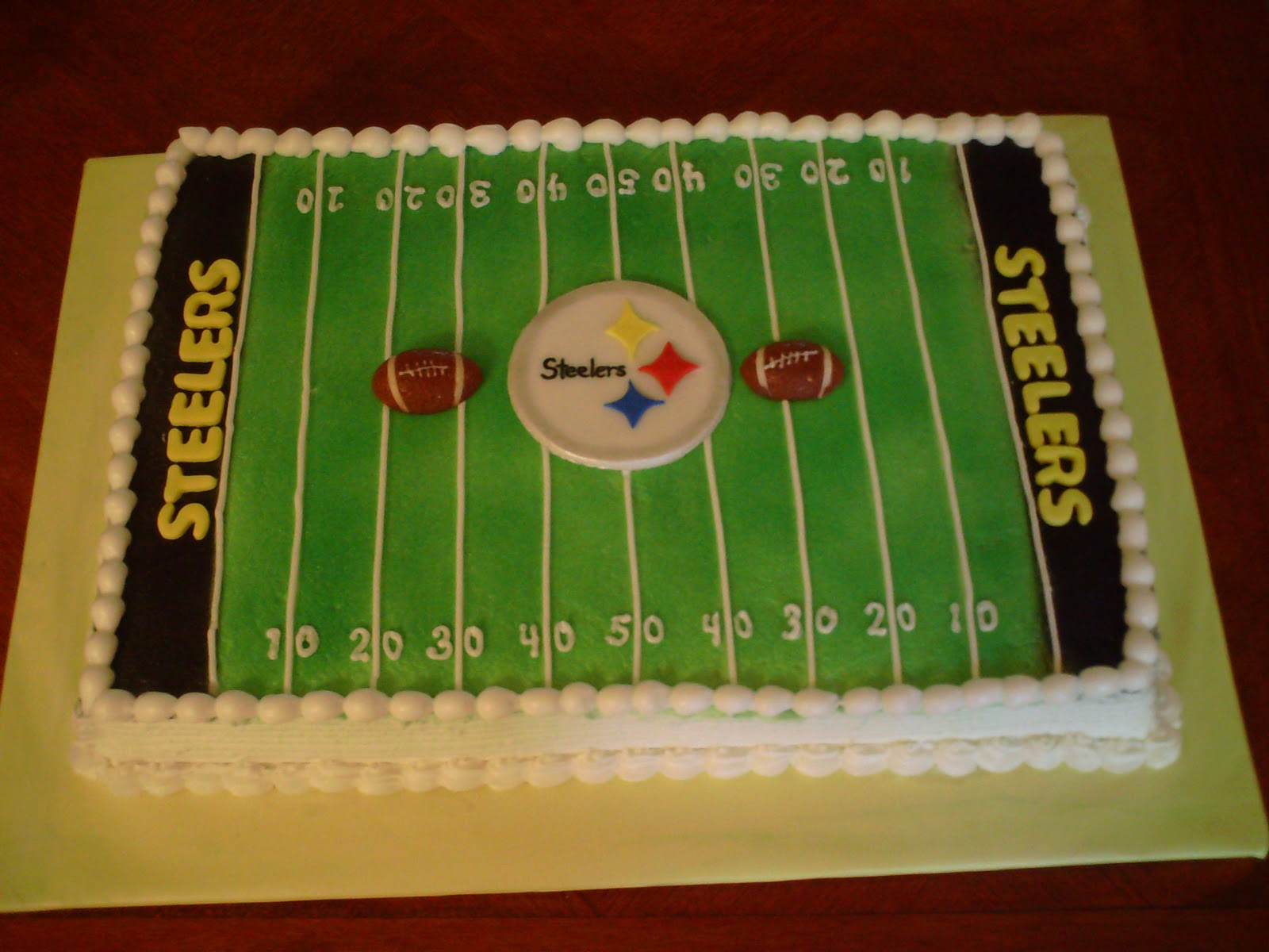 ArtnCake Pittsburgh Steelers Cake
