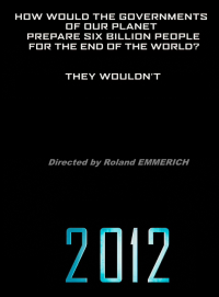 2012 Movie Directed by Roland Emmerich