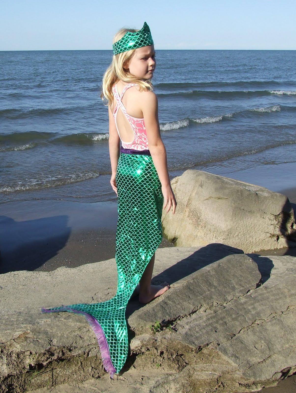 how to make a homemade mermaid tail costume