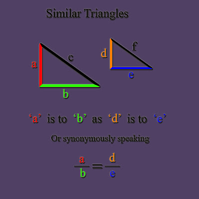 mathematical poetry similar triangles poems