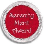 SERENITY MERIT AWARD