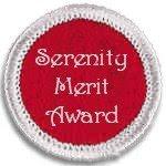 SERENITY MERIT AWARD