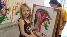 Ashton the creative one!