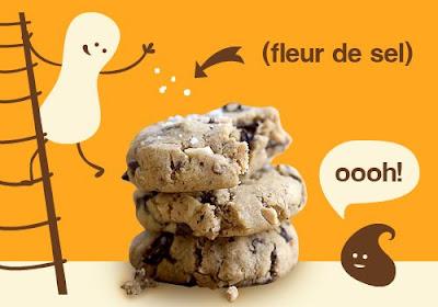 Cookies Pur Beurre de Cacahuètes et Eclats de Chocolat - flourless_cookie