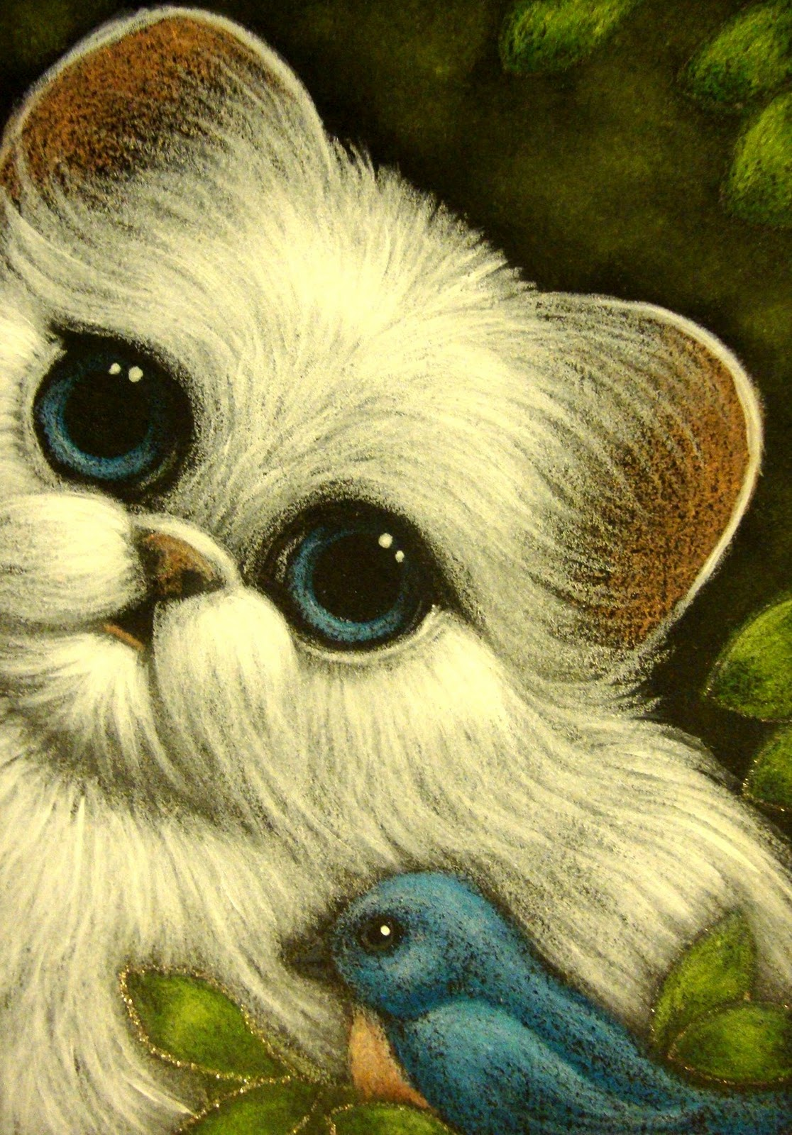 White Persian Cat Paintings high resolution widescreen