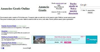 anuncios gratis online