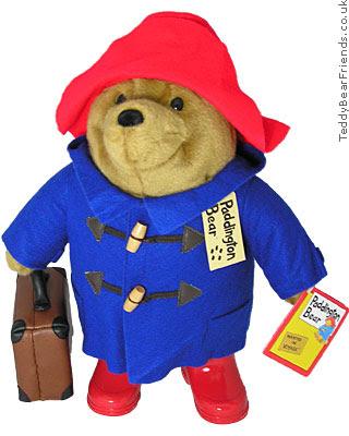 Absence, Holidays, Vacation, ... Paddington-bear-bag-blue