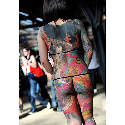 Link to The International London Tattoo Convention (Sept. 25-26-27 2009):