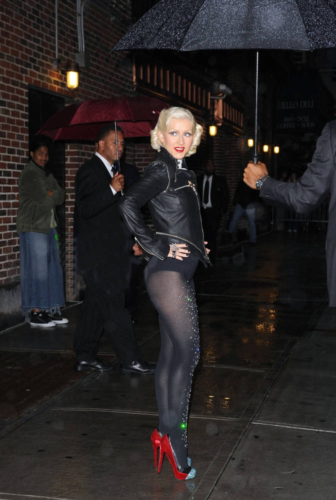 Leather, Latex & PVC: Christina Aguilera Beyonce Knowles