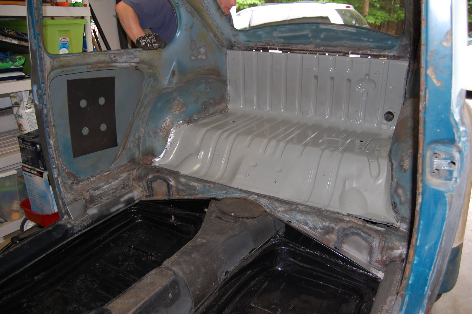 body work  volkswagen beetle restoration