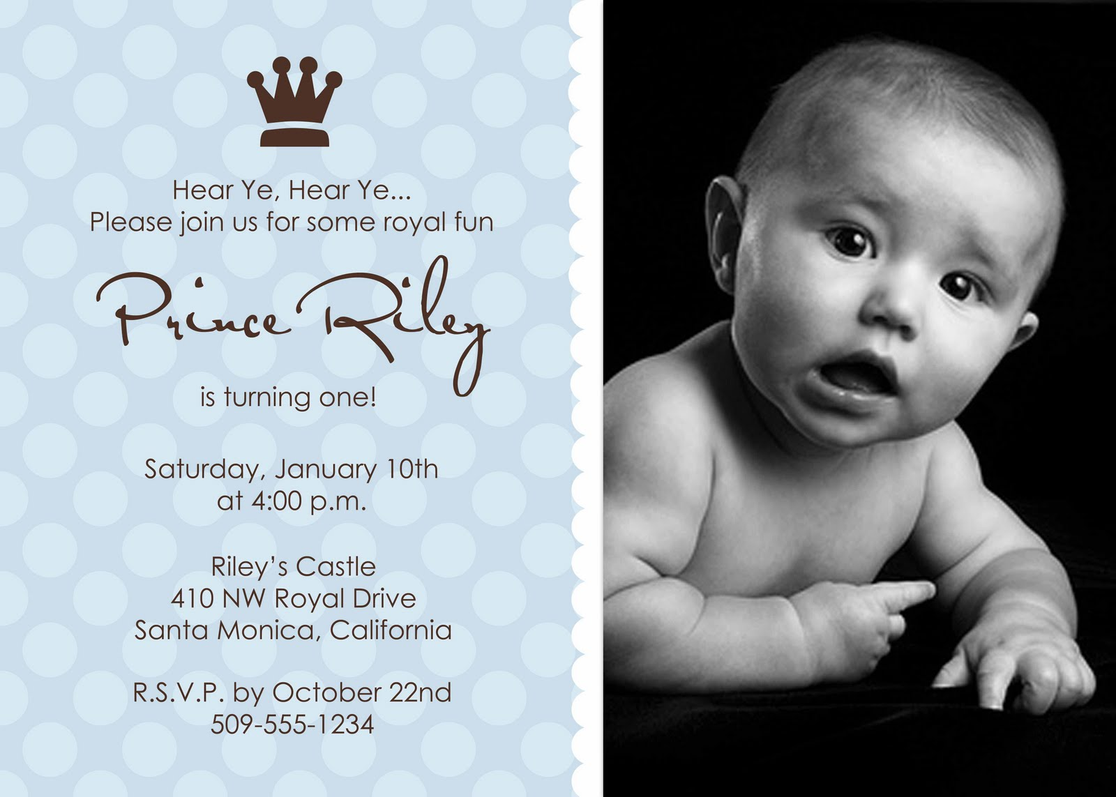 OopsieDaisy Greetings Boys Birthday Invitations