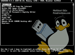 Boot multiple OS from usb drive