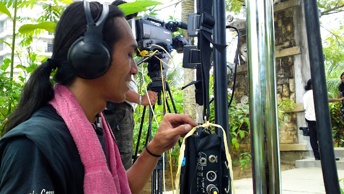 Soundman OR Listening To The MUSIC ..